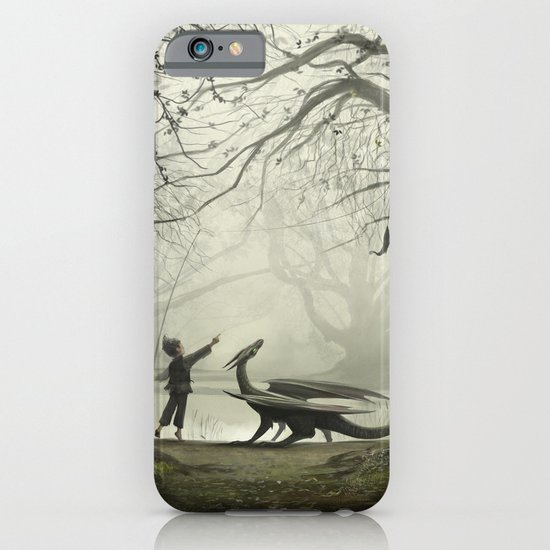 The Boy And His Dragon iPhone & iPod Case