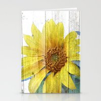 Sunflower Glow Stationery Cards