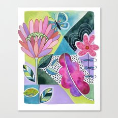Protea Breeze Canvas Print