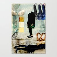 Mr.Suit Canvas Print