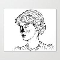 KATE (Kingston Falls 1984) Canvas Print