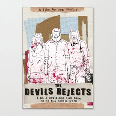 Devil's Rejects - Halloween special Canvas Print