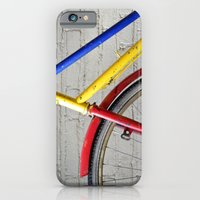 bike iPhone & iPod Cases featuring Bike by Marieken