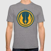 The Jedi Code Mens Fitted Tee Tri-Grey SMALL