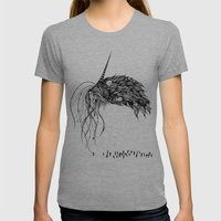 The Eldritch Womens Fitted Tee Athletic Grey SMALL