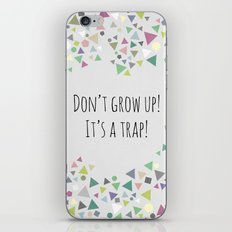 Don't grow up (colorful) iPhone & iPod Skin