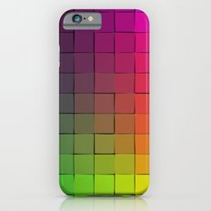 Rainbow squares Slim Case iPhone 6s