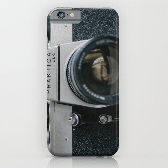 Praktika 35mm Vintage Camera iPhone & iPod Case