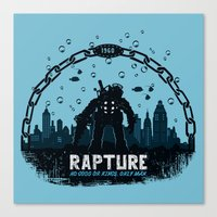 Rapture 1960 Canvas Print