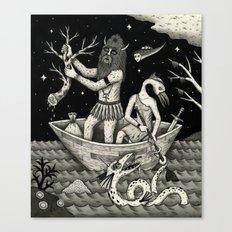 The Acquisition Canvas Print