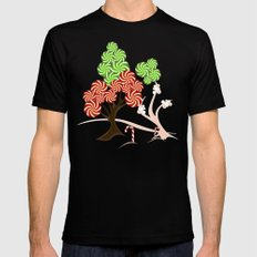 Magic Candy Tree - V1 Mens Fitted Tee Black SMALL