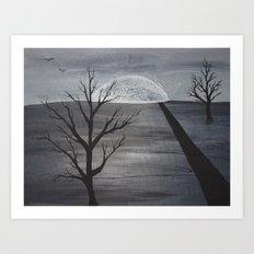 Dusk Art Print