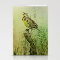 The Meadow Lark Sings Stationery Cards
