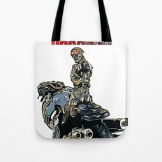 Mechanical Violator Hakaider Tote Bag