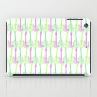 Guitars and colors 2 iPad Case