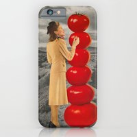 iPhone Cases featuring Condiment Compliment  by Imogen Art