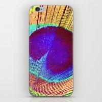 Proud Peacock  iPhone & iPod Skin