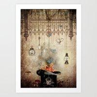 Box of Darkness Art Print