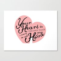 The Only Place Canvas Print