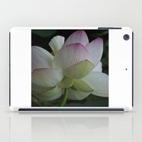 Lotus flower 4 iPad Case