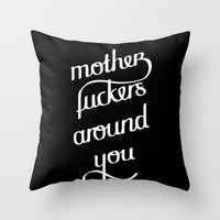 MFAY two Throw Pillow