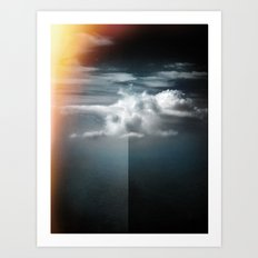 Cloud in the northern sky Art Print