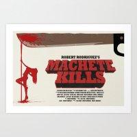 Machete Kills Art Print