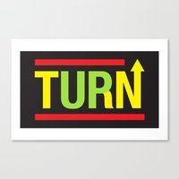 Turnup Canvas Print
