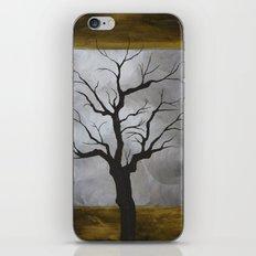 Winter Tree Print iPhone & iPod Skin