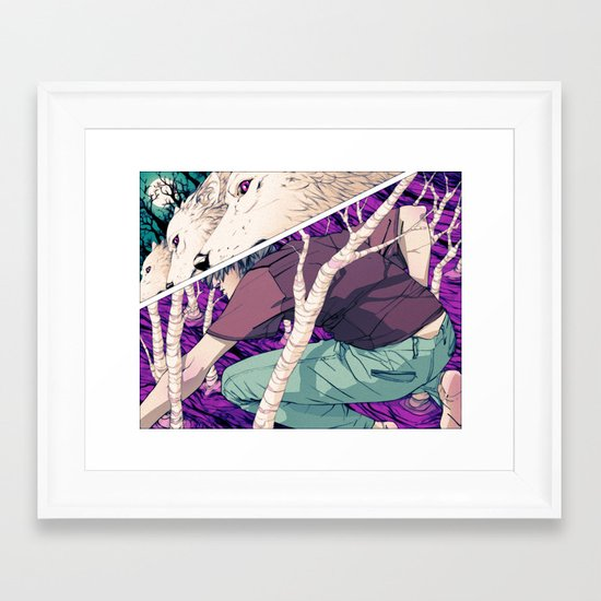 The Queen's Army Framed Art Print