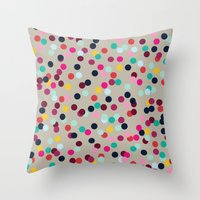 Confetti #2 Throw Pillow