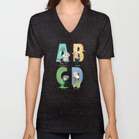 Science ABC Unisex V-Neck