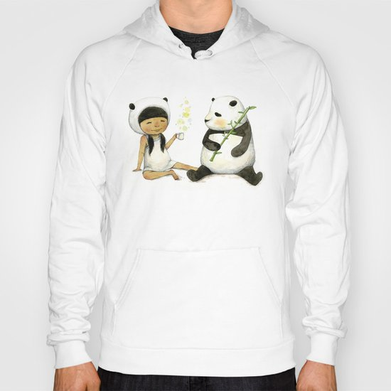 Tea Time with Panda  Hoody