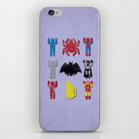 Super Heroic Minimalism … iPhone & iPod Skin
