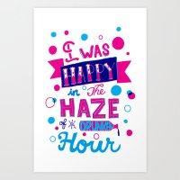 Drunken Hour Art Print