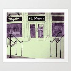 St. Mark Market Art Print