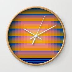 GradientGlitch v.1 Wall Clock
