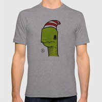 ben the turtle Mens Fitted Tee Athletic Grey SMALL