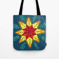 Folk Star Tote Bag