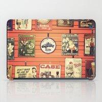 Vintage Signs iPad Case