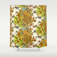 The Great Barrier Reef Shower Curtain