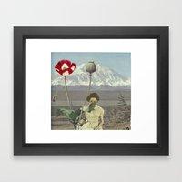 Land-forms Framed Art Print