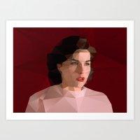Audrey Horne Art Print