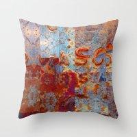 Metal Mania 7 Throw Pillow