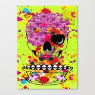 Skulls Dreams Canvas Print