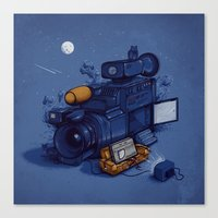 Movie Break Canvas Print