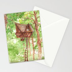 Treehouse Retreat Stationery Cards