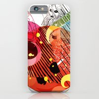 iPhone & iPod Case featuring Girl by Duru Eksioglu