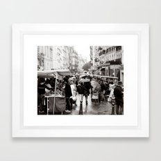 La Vie Parissiene Framed Art Print