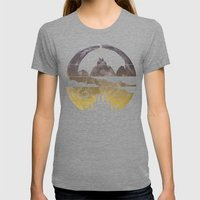 Bat Womens Fitted Tee Tri-Grey SMALL